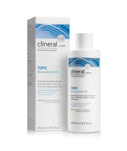 Clineral TOPIC Shower & Bath Oil