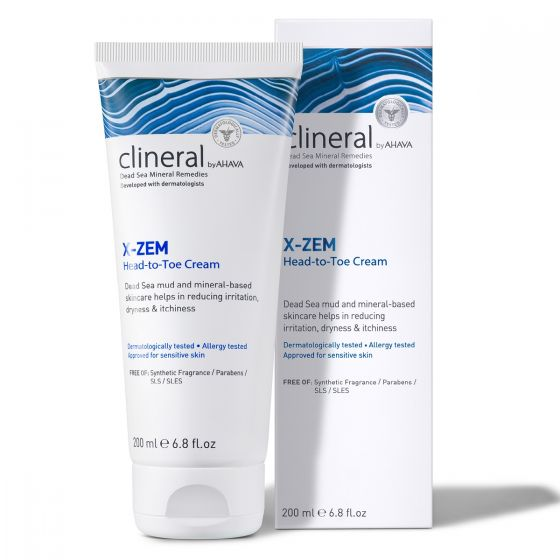 Clineral X-ZEM Head-to-Toe Cream